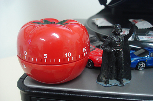 Pomodoro + Darth Vader = Awesome